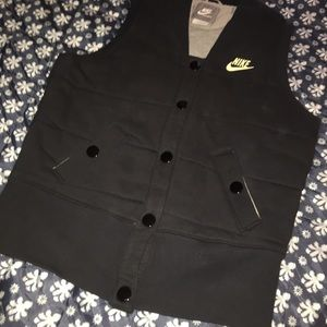 AMAZING Nike Sweatshirt vest L 12-14 GREY TAG